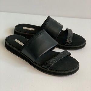 Aldo black Slides sz.7.5